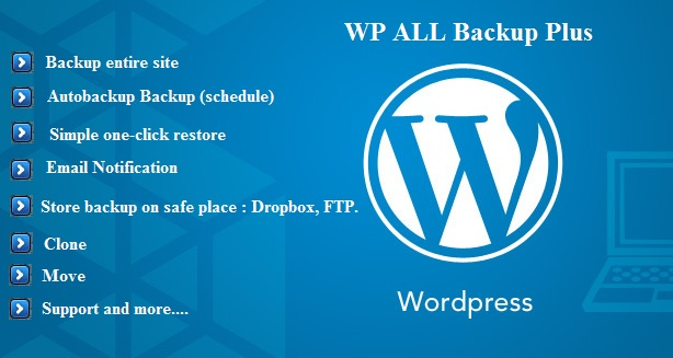Release WP All Backup Plus